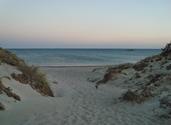 Dusk by the sea