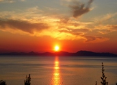 Φανταστικό ηλιοβασίλεμα